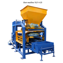YLF 4-25 concrete block making machine suppliers in south africa