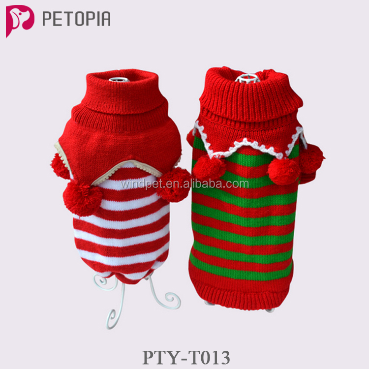 Dog Winter Clothes Puppy Cat Sweater Clothing