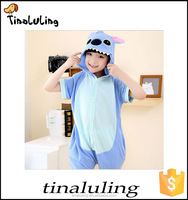 2016 kids halloween outfits children cosplay costome stitch costume for Hallowen Party
