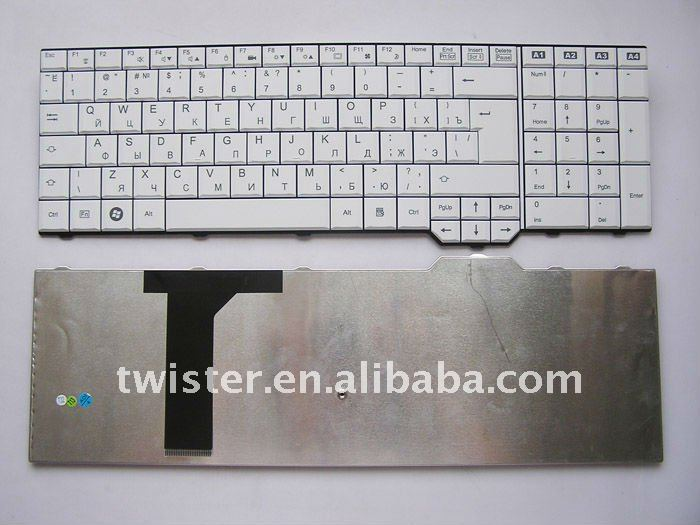 keyboard for Fujitsu Amilo XA 3530 Russian Layout new