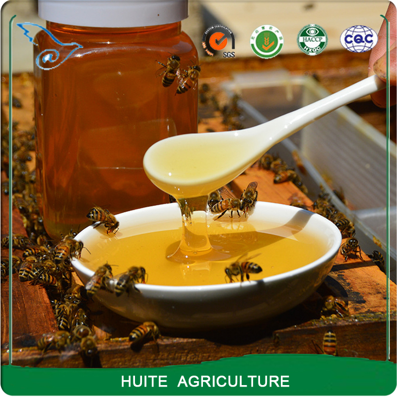 Green food pure natural wild flower honey