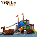 New design china supplier kids plastic slide children outdoor playground big slides for sale