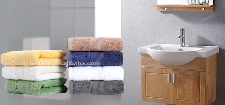 Cheap bulk buy 100% cotton hotel bath towels valet from China