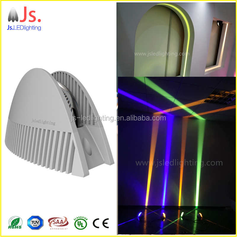 RGB color changeable hotel led wall washer light for hotel room,corridor ,window decoration