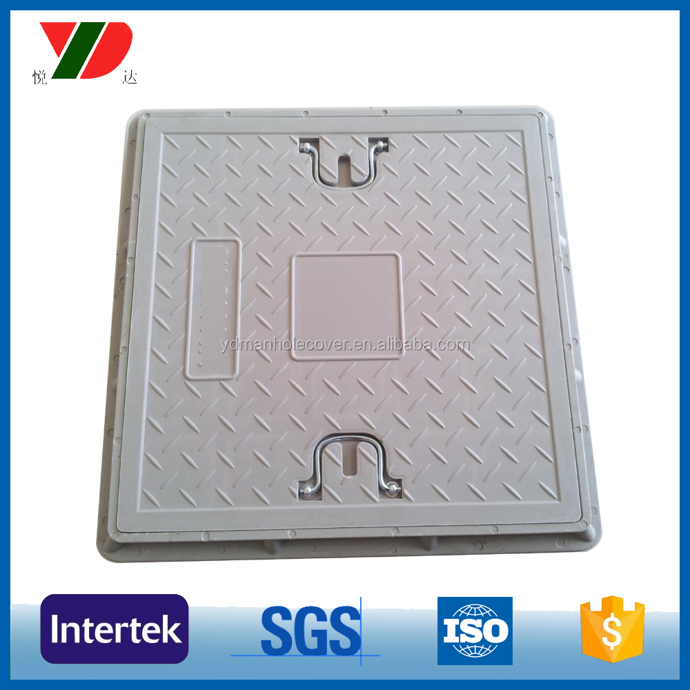 60*60 composite manhole cover with mesh
