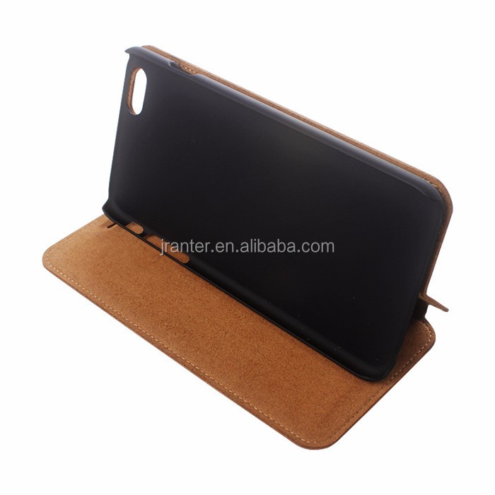 Stand Function Mobile Phone Flip Case Wholesale Detachable Wallet Leather Case for Iphone 6