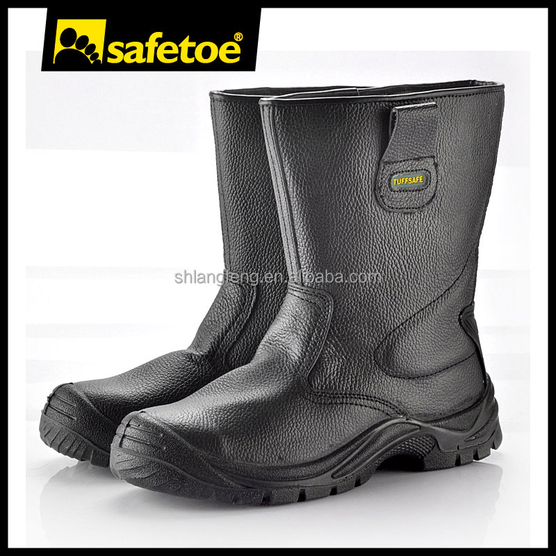 Made in China mining work boots,black knight safety boots
