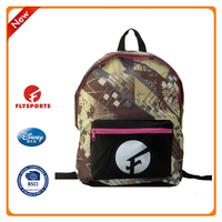 2016 new arrival outdoor use high class student school bag