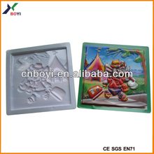 3d cartoon poster/3d pvc poster