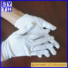 safety soft fashion parade ceremony police walmart inspector cotton gloves