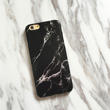 Wholesale Dropshipping Simple Marble Texture TPU Mobile Phone Case For iphone X 8 8plus 7 7plus 6 6plus