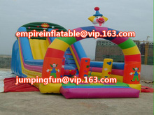 medium size inflatable water slide or inflatable jumping slide ID-SLM050