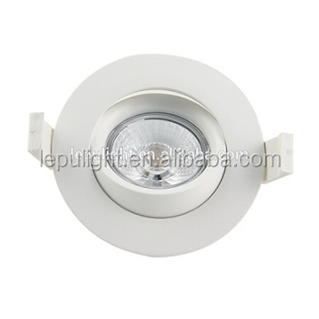 360 adjustment 2700k 3000k warm white 9w led cob downlight with 83mm cut out CE RoHS approved