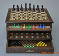 10 in 1 Combination Wood wholesale board games