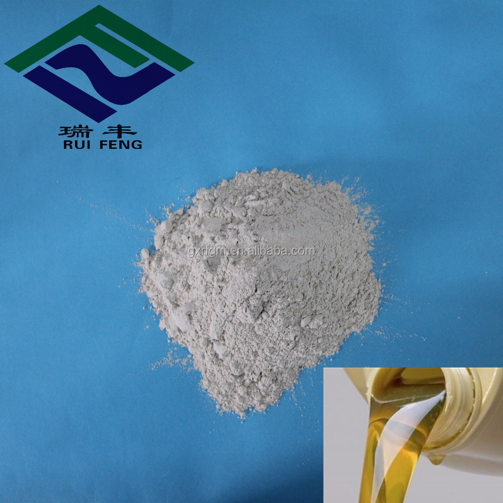 recycling used oil black engine oil bleaching granular clay activated white powder