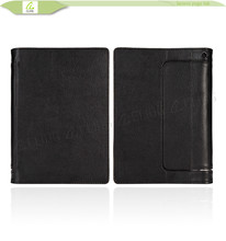 for Lenovo Yoga Tablet 2 10 leather case, Factory price For Lenovo yoga tablet 10 Stand folio leather case