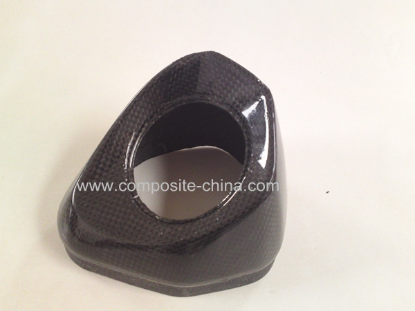 OEM Carbon Fiber Auto Parts With Glossy Surface Finish