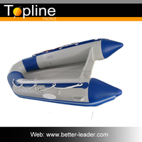 PVC material Fiberglass Cheap Inflatable Boat Fishing