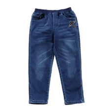 Children clothing wholesale custom washed fashion boys jeans pants kids trousers