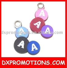 pvc zipper puller/rubber zipper slider/soft pvc zipper pull