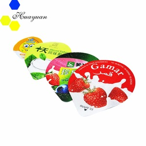 Heat Seal Yogurt Cup Aluminium Foil Lids
