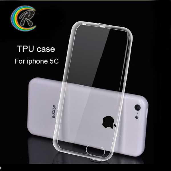 Slim ultra for iphone case tpu for iPhone 5C soft tpu mobile phone back cover case shell