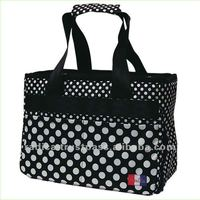 Polka dots dog bag with Deodorizing Feature