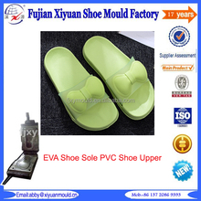 Customized Injection EVA shoe sole combines PVC shoe upper mould maker in China