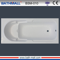 hot normal bathtub with seat fiberglass bathtub for adult