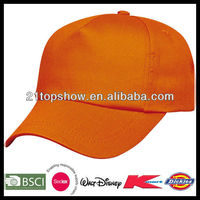 Cheap china blank wholesale 5 panel hats