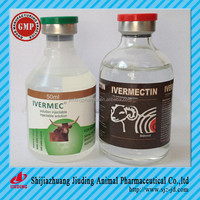 Cow medicine ivermectin injection 1% veterinary finished medicine
