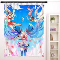 New Vocaloid Anime Japanese Window Curtain Door Entrance Room Partition H0138