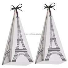 Paris Party Eiffel Tower Favor Boxes wholesale paper mache boxes