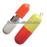 capsule shape plastic usb flash 2.0 256mb,hospital promotion medicine shape 128mb plastic usb,plastic gift usb flash drive 128m