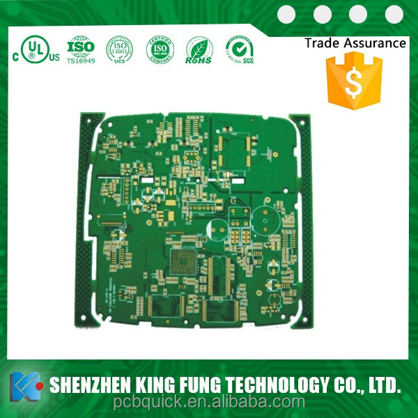 shenzhen pcb manufacturing Multilayer printed circuit board for dry film solder mask pcb
