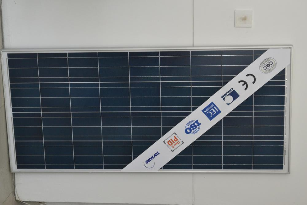 solar power 100w 150w poly solar panel with ce tuv approved