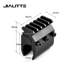 Jialitte J007 Picatinny Rail Mount Base Adapter Scope Mount Converter Laser Sight Flashlight Gun Rail Mount