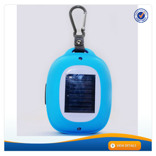 AWS1167 2015 New Design Portable Solar Powered Active Bluetooth Wireless Outdoor Speaker With Carabiner Keychain