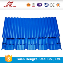 Long Span Color Coated Corrugated Steel Roofing Sheet