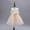 Couture Lace Baby Girl Baptism Dress or Flower Big Bow Girl Dress Party Clothes