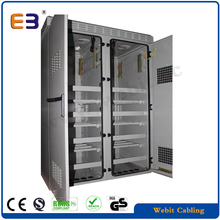 AC/heat exchanger+double wall+customized sizes+cabling equipments,indoor/outdoor battery cabinet