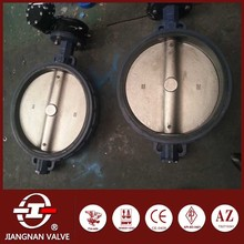 lever handle operated leakproof lage butterfly valve cast steel IIS