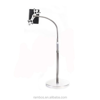 Sofa Side Universal Stand Floor Tablet Rotating Mount Holder for iPad 2 3 4 5