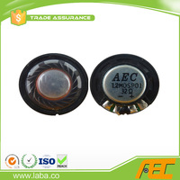 Alibaba Golden Supplier 27MM 32 ohm 0.5W Micro Mylar Speaker