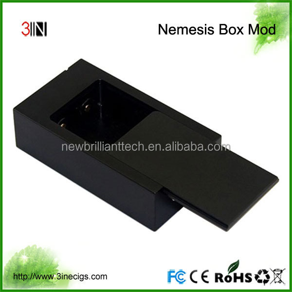 Best Selling Nemesis Box Mod Mech 1:1 Cone 18650 Box Mod On Sale