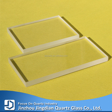 Quartz glass observation window