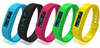 Multi colors custom fitness bracelet / Pedometer smart bracelet / Silicone bluetooth health bracelet