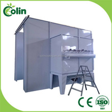Fast color-changing new design powder spray booth fiber glass rolls