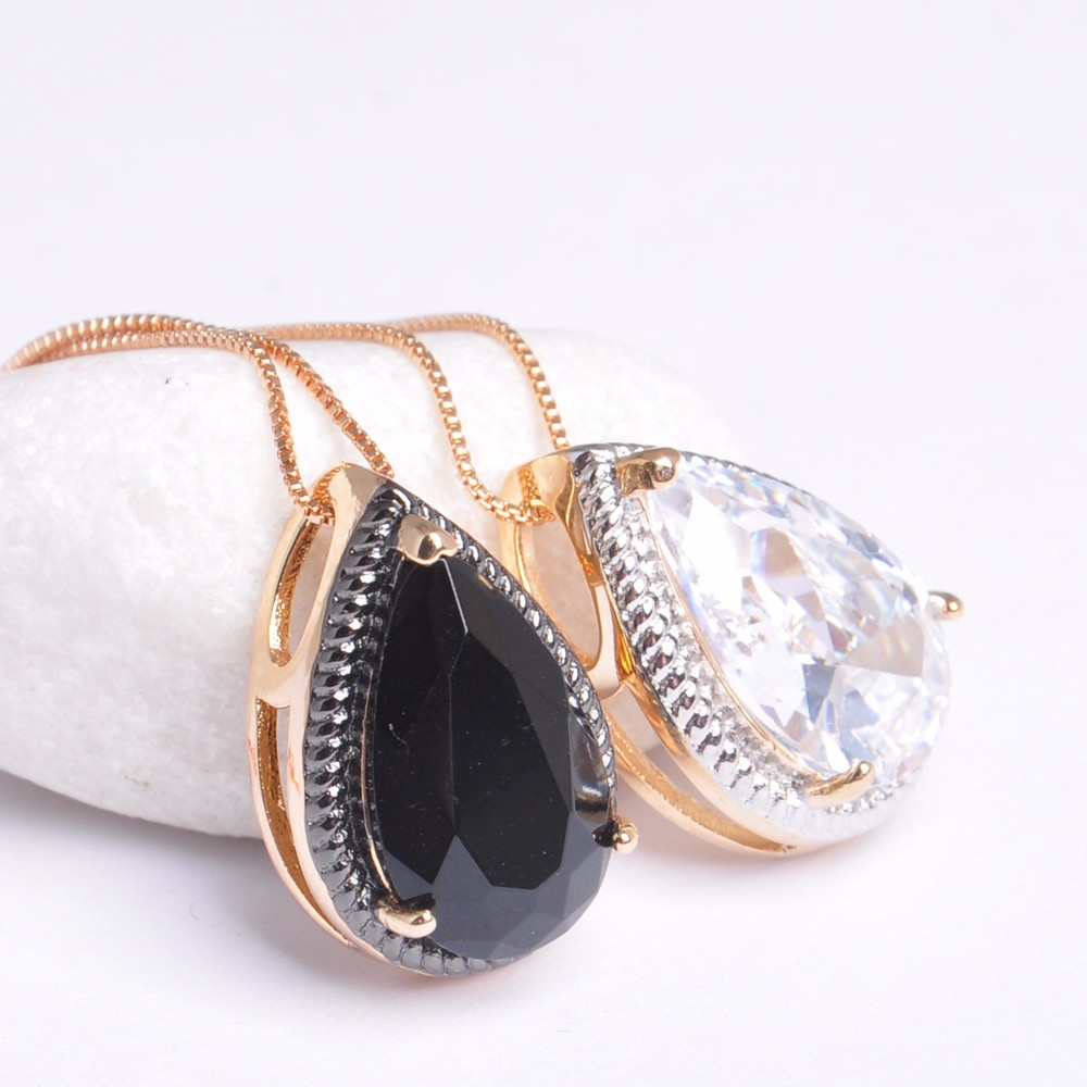 New products High Quality Clear Big Crystal Stone Pendant Design