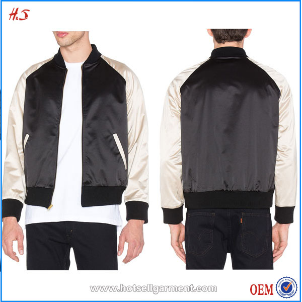 Chinese Clothing Manufacturers For Ribbed Trim Bomber Jacket Wholesale From Clothing Factories In China Wholesale Market